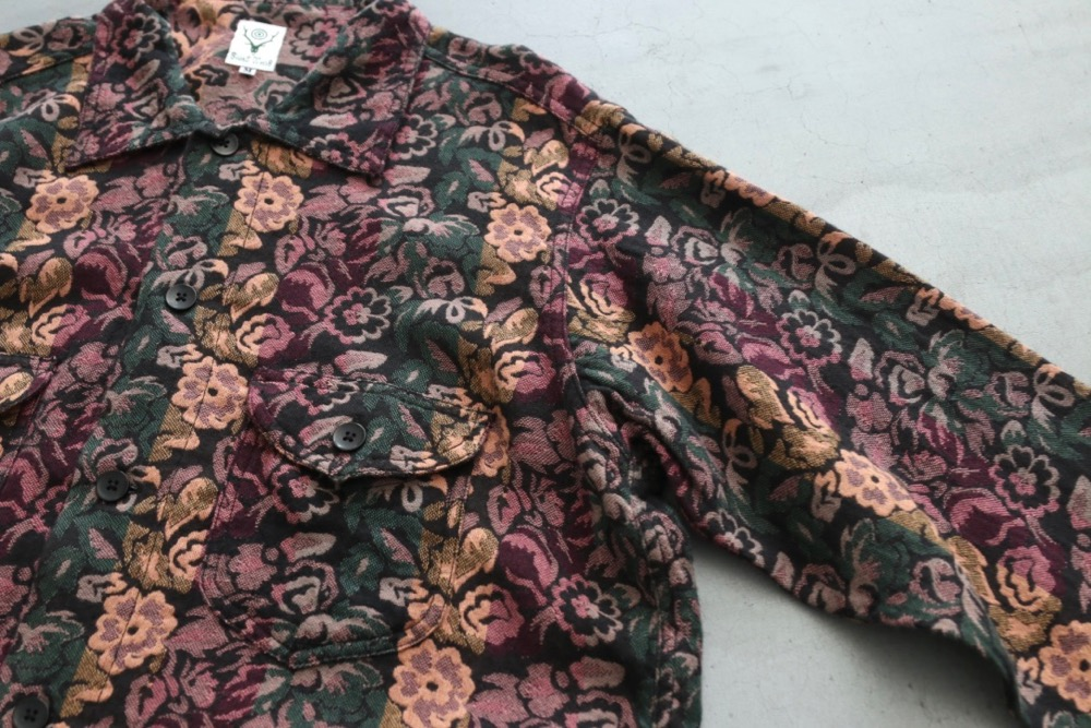 """South2 West8 (サウスツー ウェストエイト) """"Smokey Shirt - India Dobby"""""""
