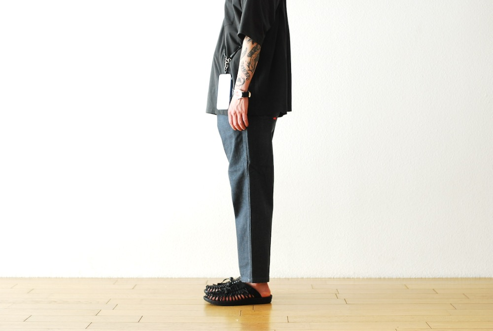 "[unisex]itten. (イッテン)""itten 362 tapered pants - denim -"""