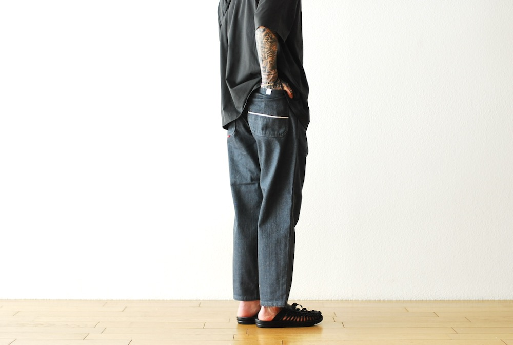 """[unisex]itten. (イッテン)""""itten 362 tapered pants - denim -"""""""