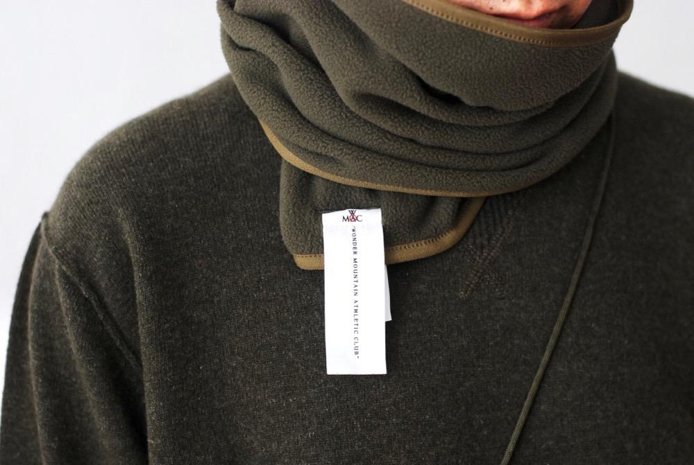 "WONDER MOUNTAIN ATHLETIC CLUB(ワンダーマウンテン アスレチック クラブ) ""Fleece Muffler No.01"""
