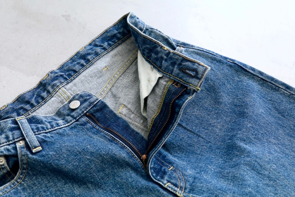 """[EXCLUSIVE / W.M 別注] SEVEN BY SEVEN (セブンバイセブン) """"DENIM WIDE PANTS - Washed -"""""""
