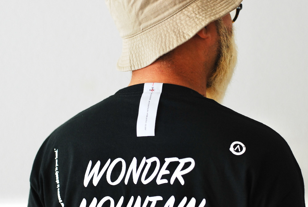 """WONDER MOUNTAIN ATHLETIC CLUB(ワンダーマウンテン アスレチック クラブ) """"Playing  L/S Top No.04"""""""