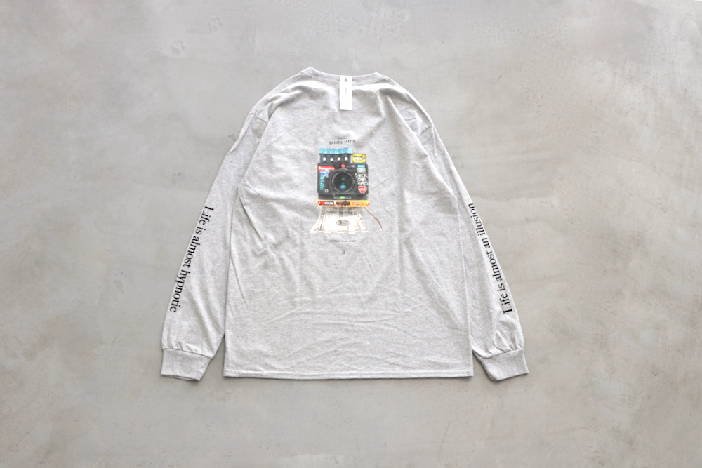 """【limited】WONDER MOUNTAIN ATHLETIC CLUB × Genetic Effect (ワンダーマウンテン アスレチック クラブ × ジェネティックエフェクト) """"Playing  L/S Top No.06"""""""