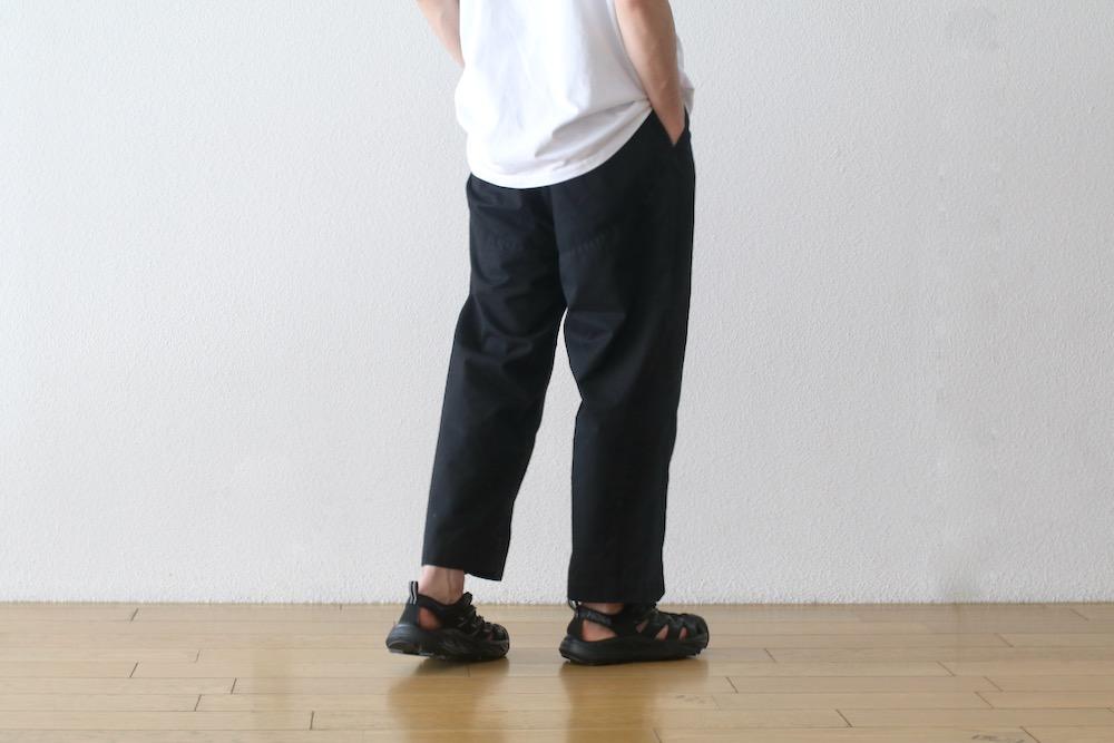 "[unisex / 撥水]itten.(イッテン)""itten 17 wide pant -Ventile-"""