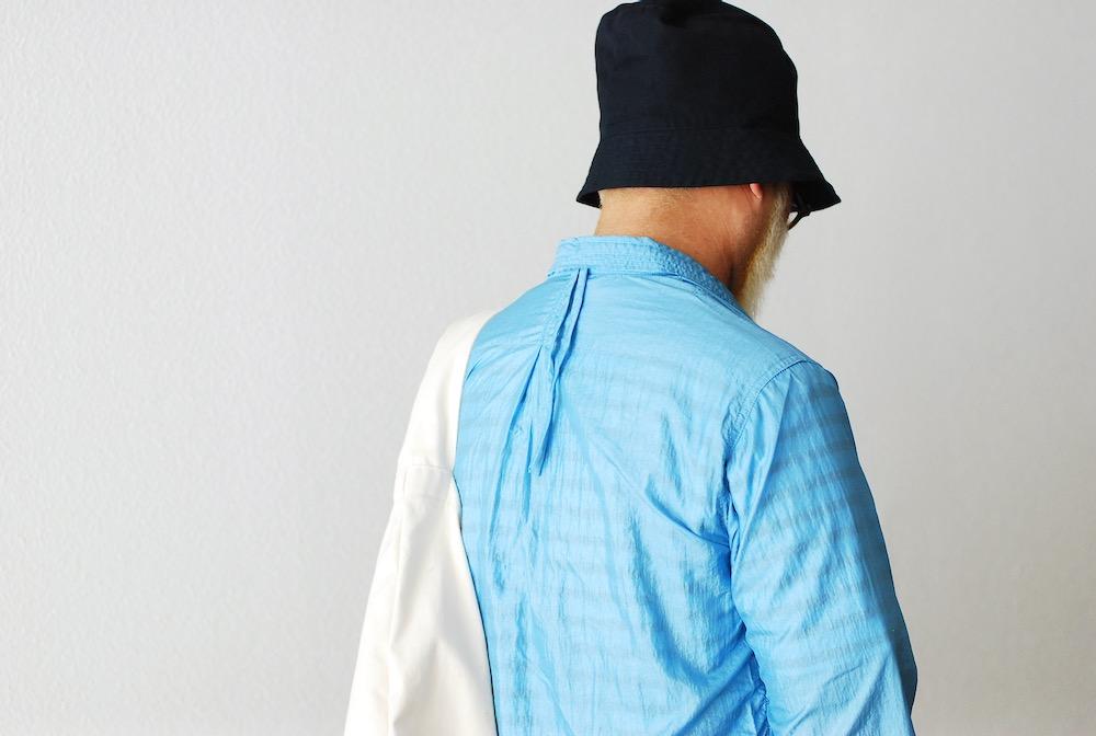 "[unisex]itten.(イッテン) ""itten 06 coach shirts - water proof nylon"""