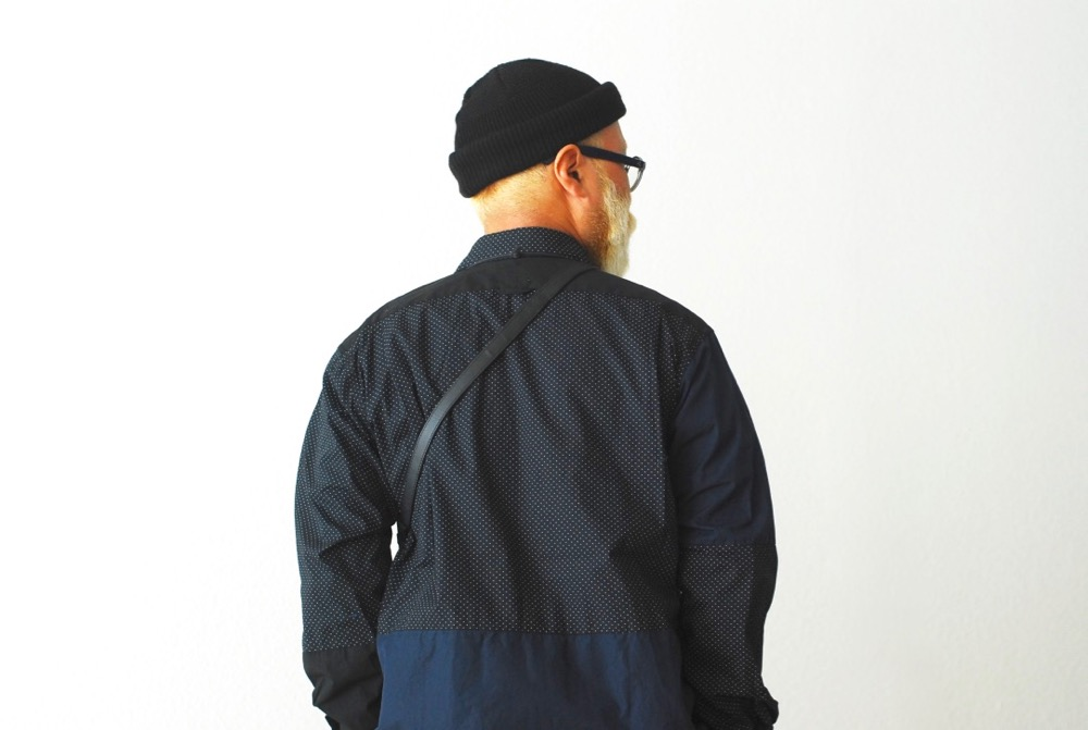 "Engineered Garments (エンジニアードガーメンツ) ""Combo Short Collar Shirt - Big Polka Dot -"""