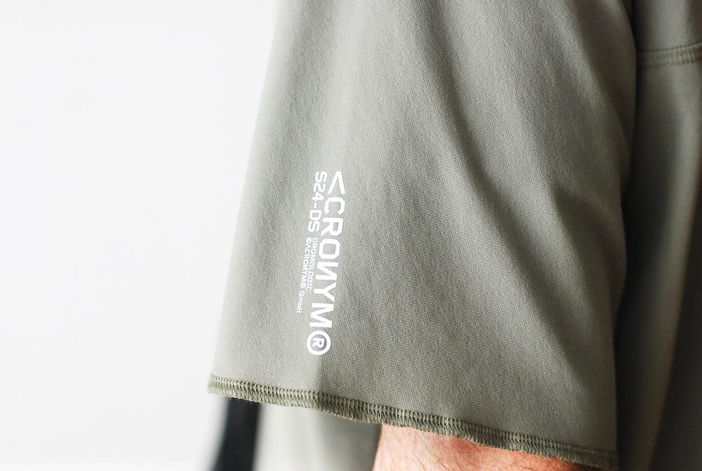 """ACRONYM(アクロニウム) """"S24-DS SCHOELLER DRYSKIN SHORT SLEEVE T-SHIRT"""""""
