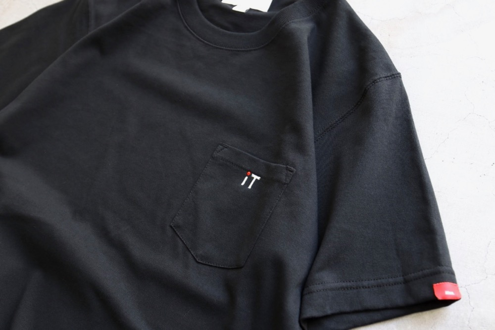 "[unisex]itten.(イッテン) ""itten 10 ""iT"" Pocket Tee"""