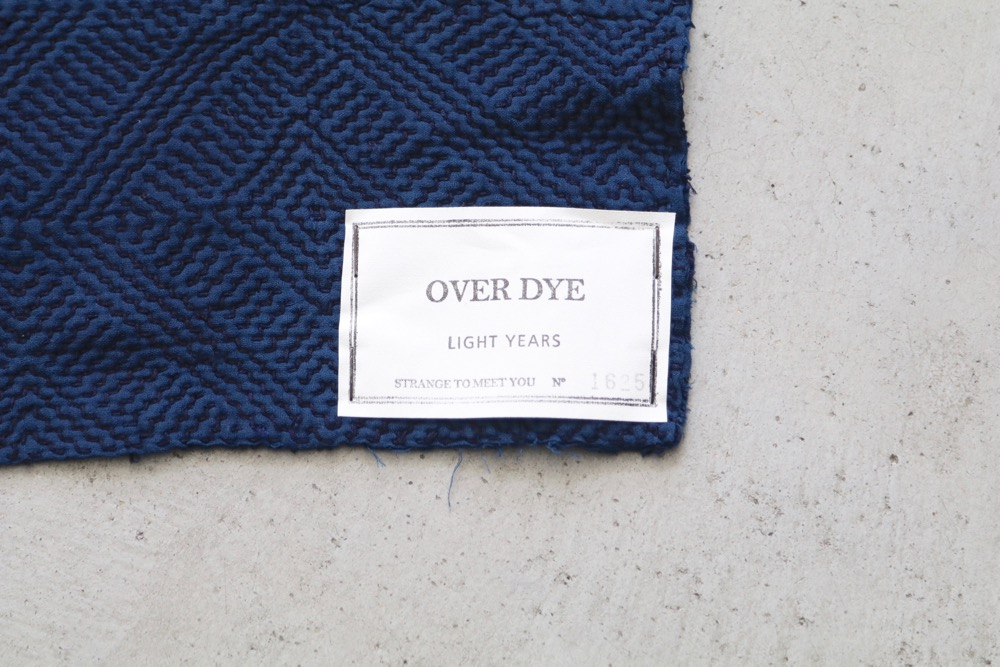 "LIGHT YEARS(ライト イヤーズ) ""VINTAGE QUILT -OVER DYE 1625-"""