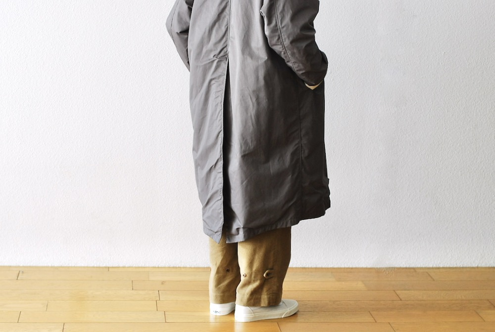 "itten.(イッテン) ""itten 16 Bal Collar Coat"""