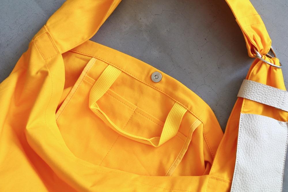 "[EXCLUSIVE / W.M 別注] yorozu(ヨロズ) ""キャンバスタスキショルダー """
