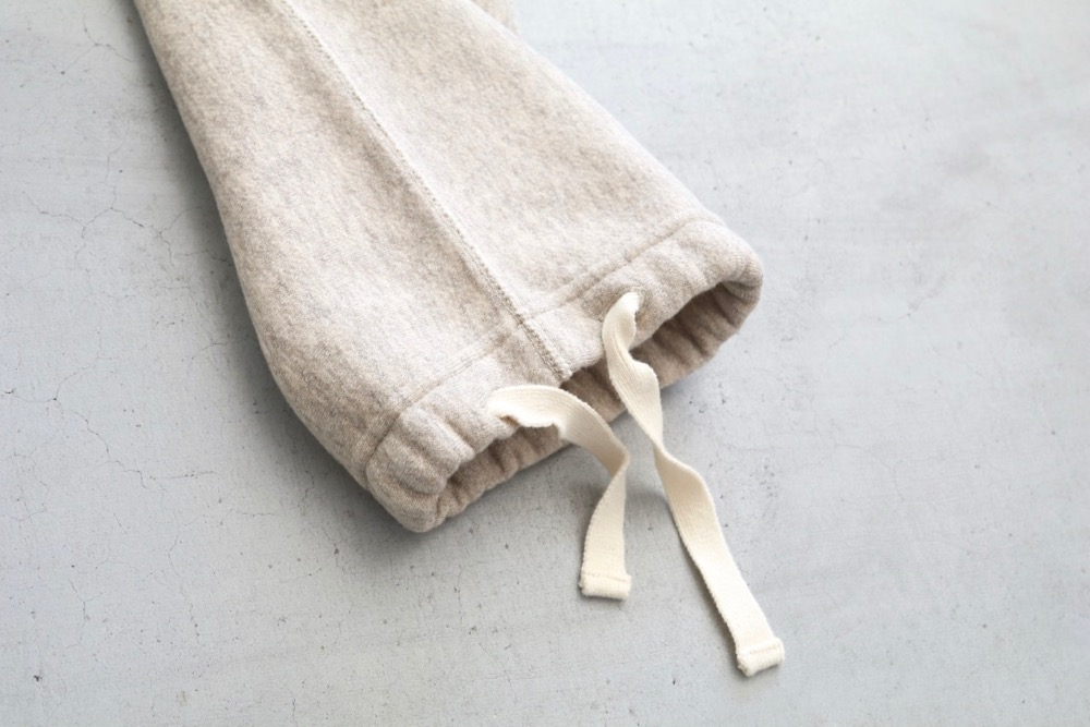 "【WOMEN'S】TOUJOURS(トゥジュー)""Sweat Pants - BACK BRUSHED AUTHENTIC COTTON*YAK SWEAT"""