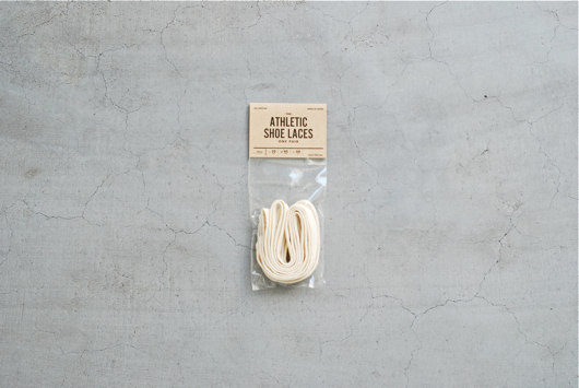"[再入荷]This is...(ディスイズ) ""ATHETIC SHOE LACES - Cotton Shoe Lace  -"""