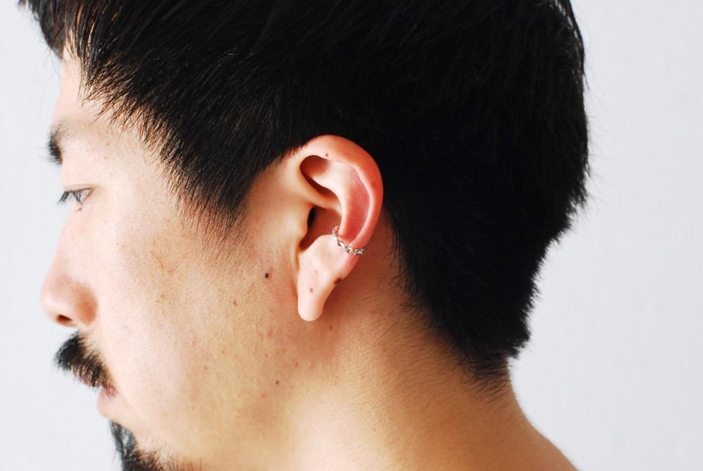 "[unisex] CAREERING×WACKO MARIA(キャリアリング×ワコ マリア) ""PARADISE EAR CUFF 07"""