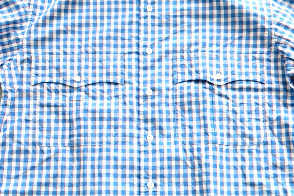 """Porter Classic(ポータークラシック) """"ROLL UP TORICOLOR GNGHAM CHECK SHIRT"""""""