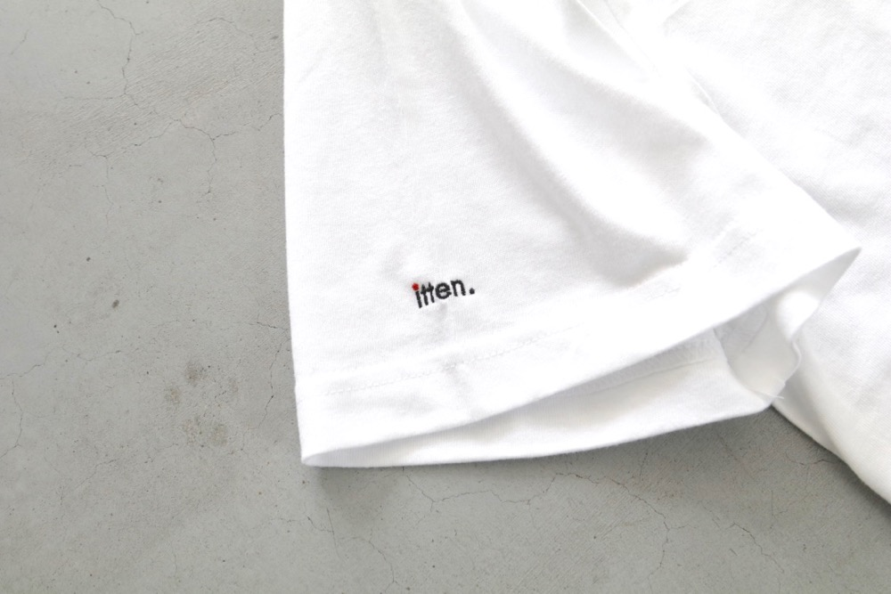 "[unisex]itten.(イッテン) ""itten 60 ""MAD"" Pocket Tee"""