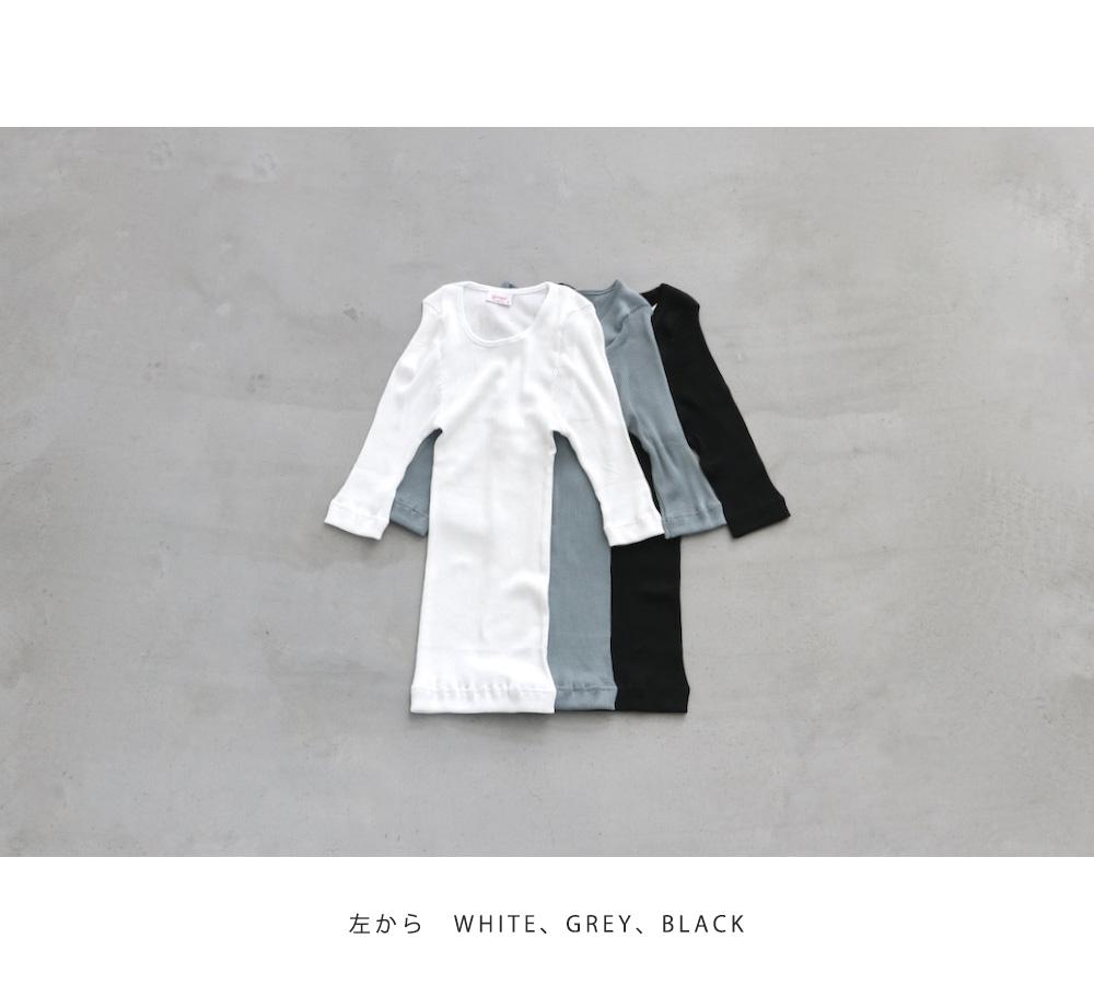 """【WOMEN'S】gicipi (ジチピ) """"CREW NECK H/S"""""""