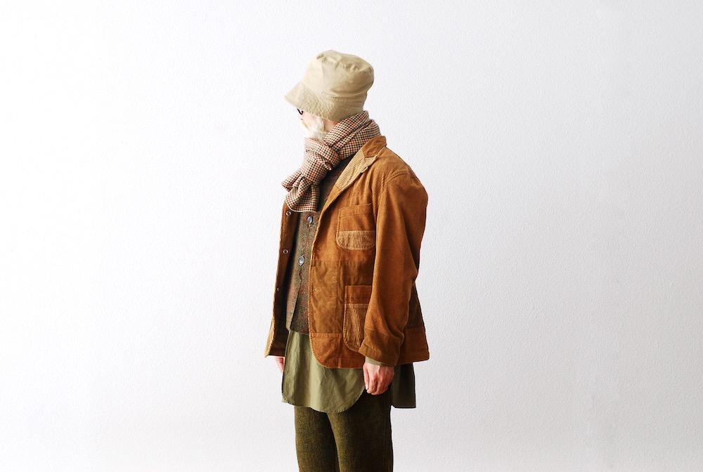 "[EXCLUSIVE / W.M 別注] Engineered Garments (エンジニアードガーメンツ) ""Button Shawl - Big Gunclub Check"""