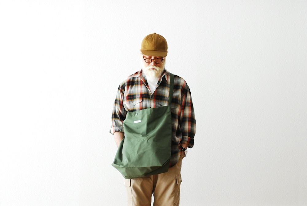 "Engineered Garments (エンジニアードガーメンツ) ""Carry All Tote -Cotton Ripstop"""