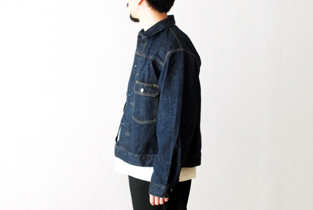 "[unisex]itten.(イッテン) ""itten 40 denim jacket"""