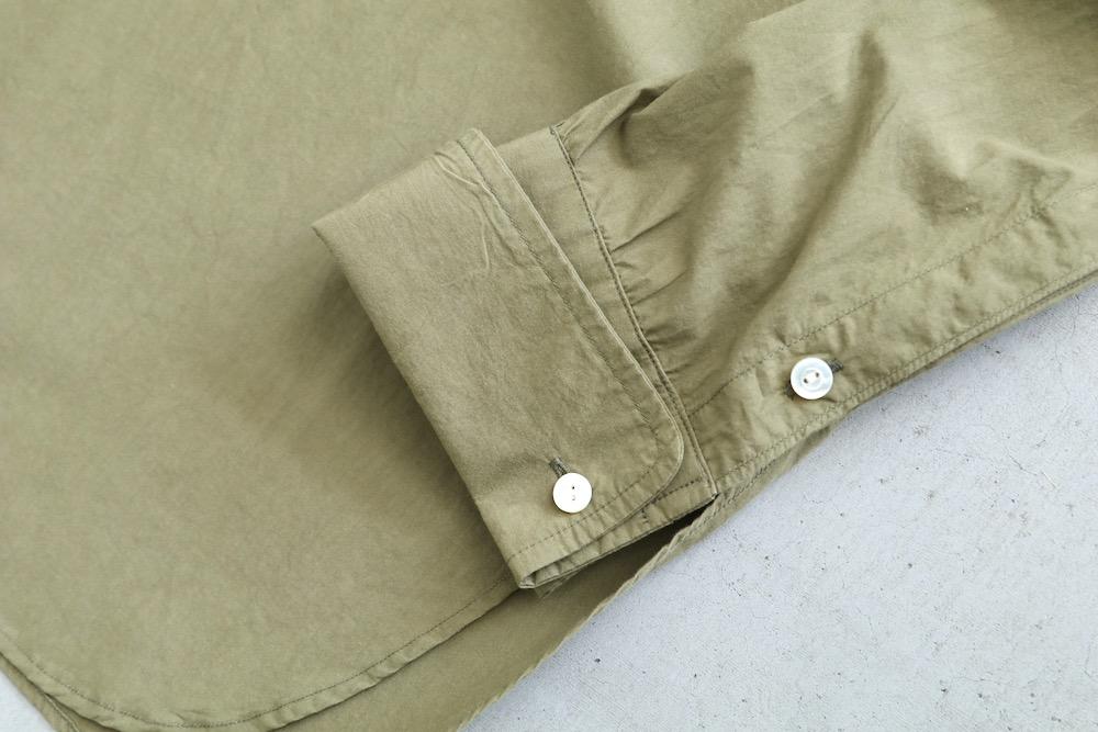 """[unisex]itten. (イッテン) """"itten 16 bandcollar shirt"""""""