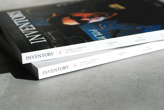 Inventory Magazine Issue 9 FALL/WINTER 2013