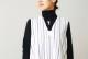 """itten.(イッテン) """"itten 11 H vest long - Multi Stripe-"""""""