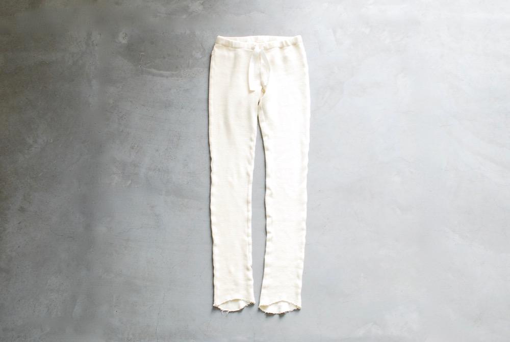 """itten. (イッテン) """"itten 16 knit pants -Cut Off Thermal-"""""""