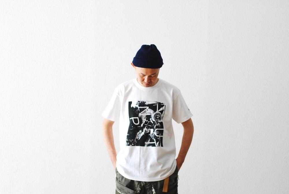 "itten. × KOSUKE KAWAMURA (イッテン× 河村康輔) ""S/S Tee 005"""
