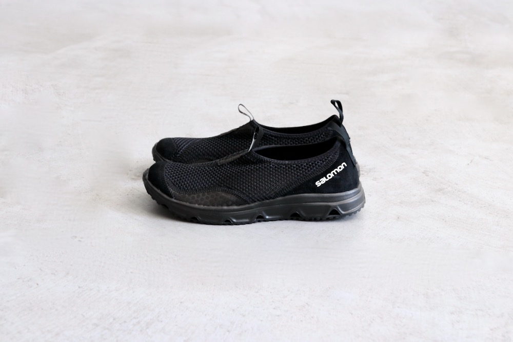 "SALOMON ADVANCED(サロモン アドバンス) ""RX MOC ADVANCED - BLACK/PHANTOM/VANILLA ICE"""