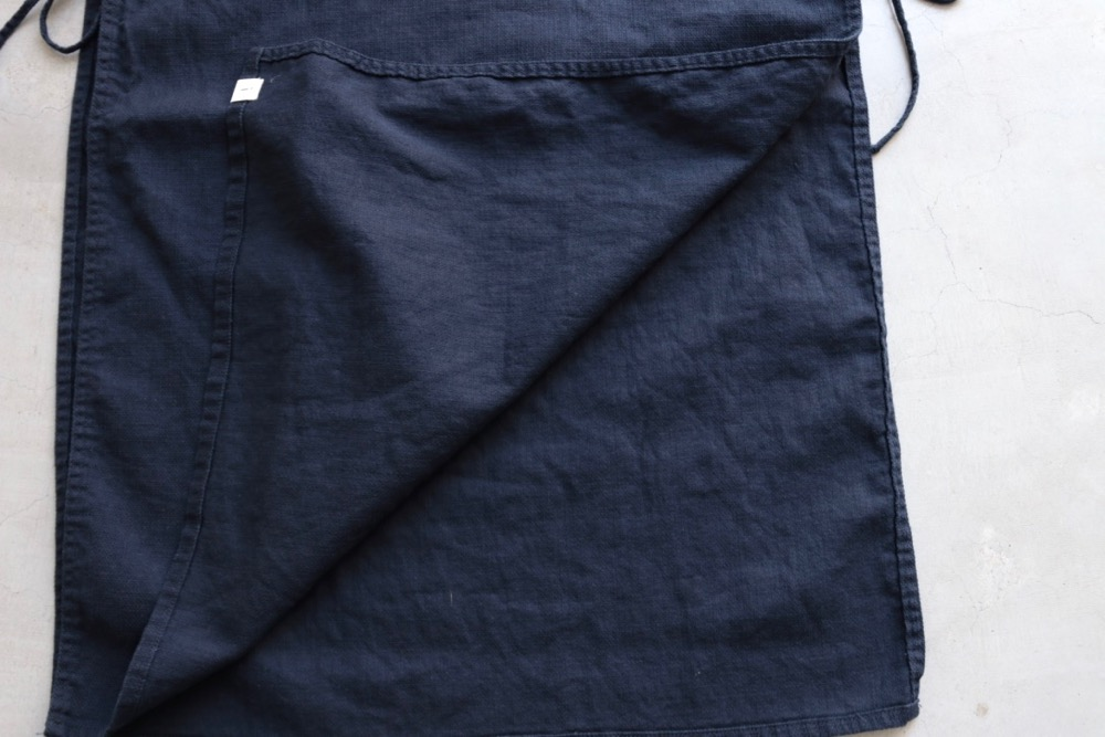 """itten.(イッテン) """"itten 11 H vest long -Cotton Linen-"""""""
