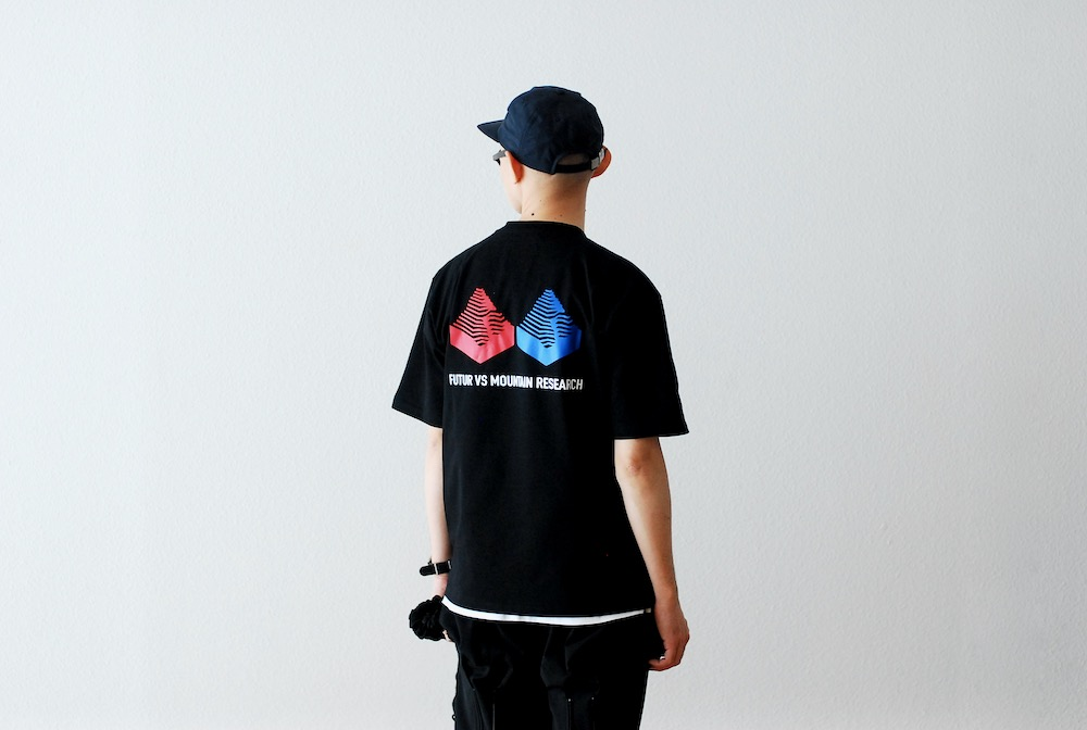 """[limited]FUTUR × MOUNTAIN RESEARCH (フューチャー × マウンテンリサーチ)""""MW VS G FIT TEE"""""""