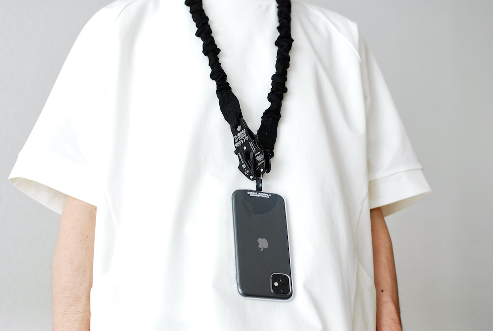 """[ EXCLUSIVE / W.M別注  ]MOUT RECON TAILOR(マウトリーコンテーラー) """"Kong Frog Retention Lanyard - W.Mountain Custom -"""""""
