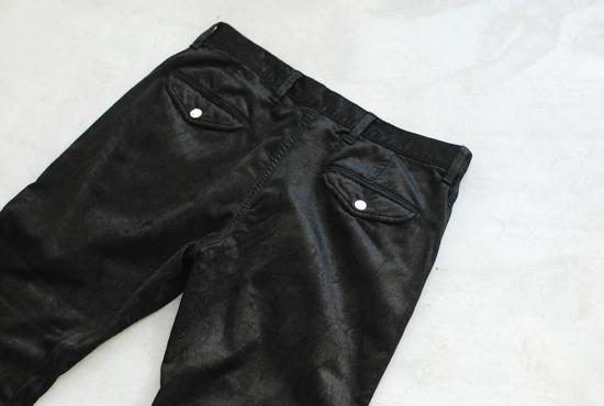 "THOROUGHLY DENIM (サーロリーデニム) Everybody's trousers type1""Scottie-Corduroy- Cut off"""