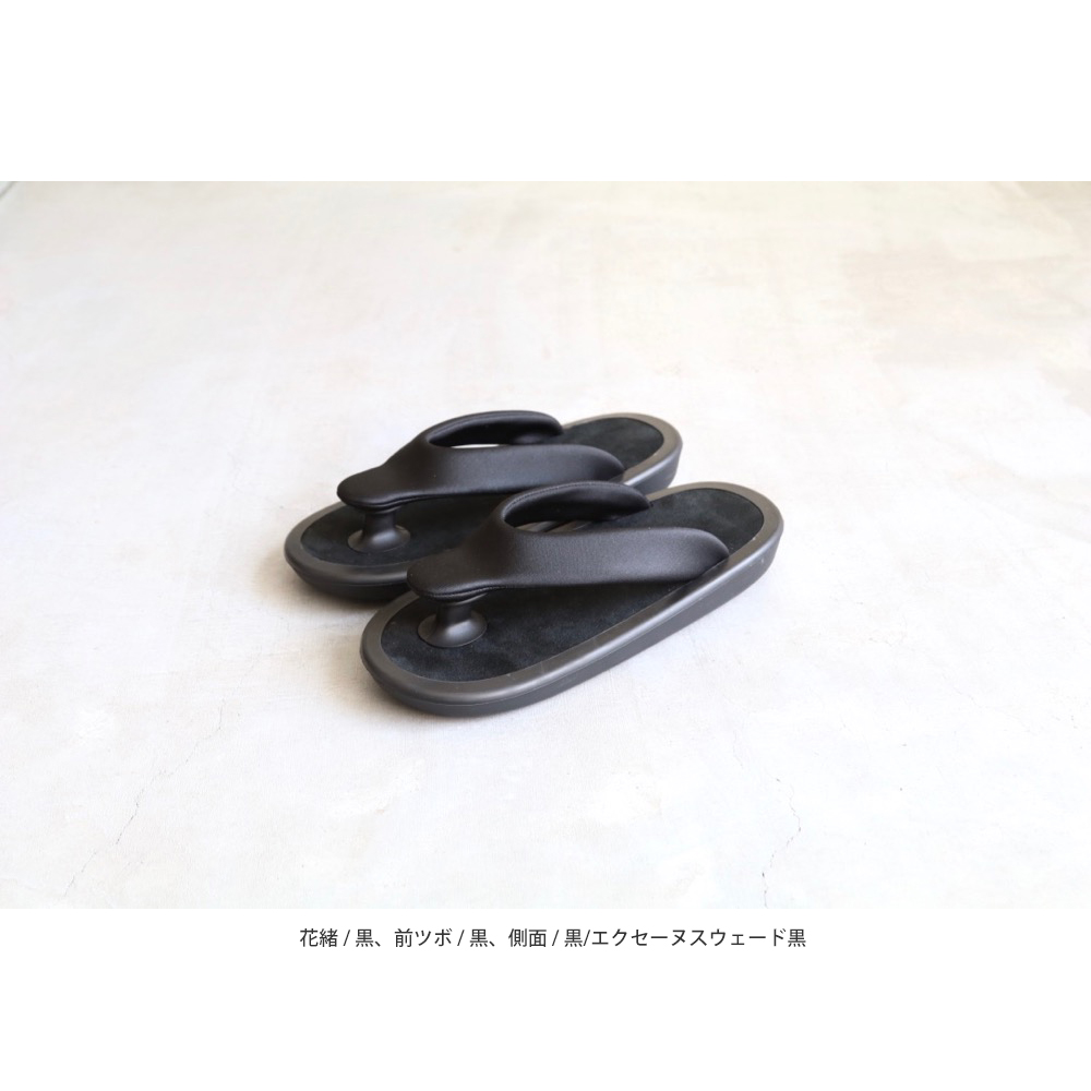 "[unisex]JoJo(ジョジョ) ""BEACH SANDAL / Ecsaine Leather"""