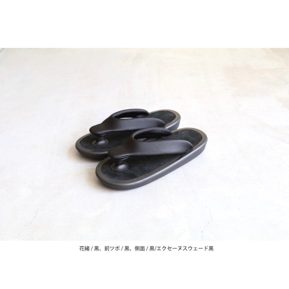 "[unisex]JoJo(ジョジョ) ""BEACH SANDAL / Ecsaine Leather"""