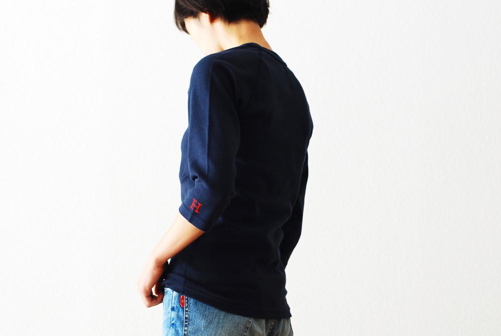 """[unisex]HOLLYWOOD RANCH MARKET(ハリウッドランチマーケット)""""ストレッチフライス ハーフスリーブTシャツ"""""""