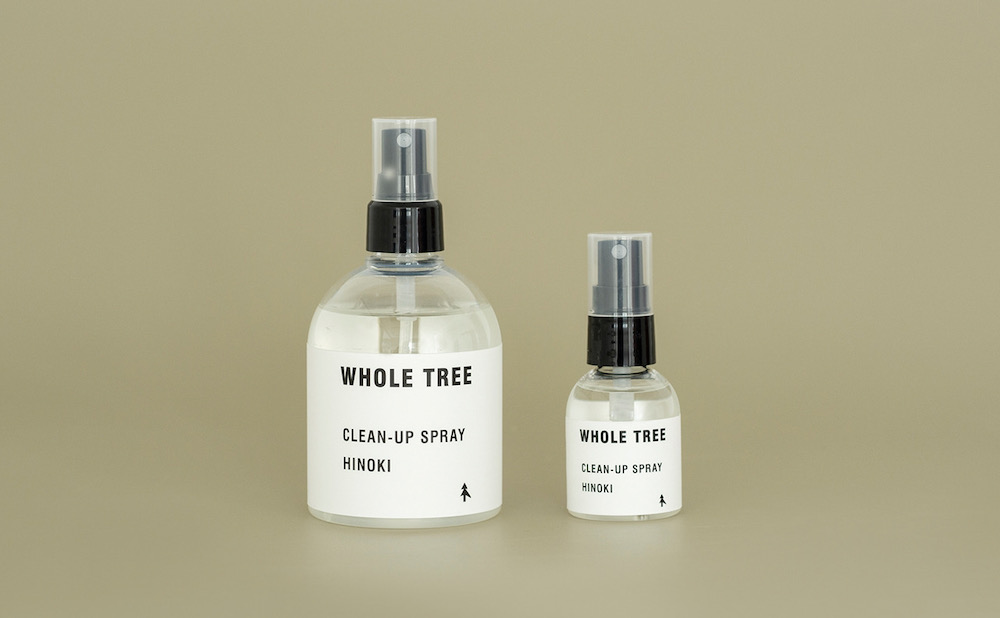"""Landscape products(ランドスケープ プロダクツ) """"WHOLE TREE -CLEAN-UP SPRAY HINOKI- 250ml / 50ml"""""""