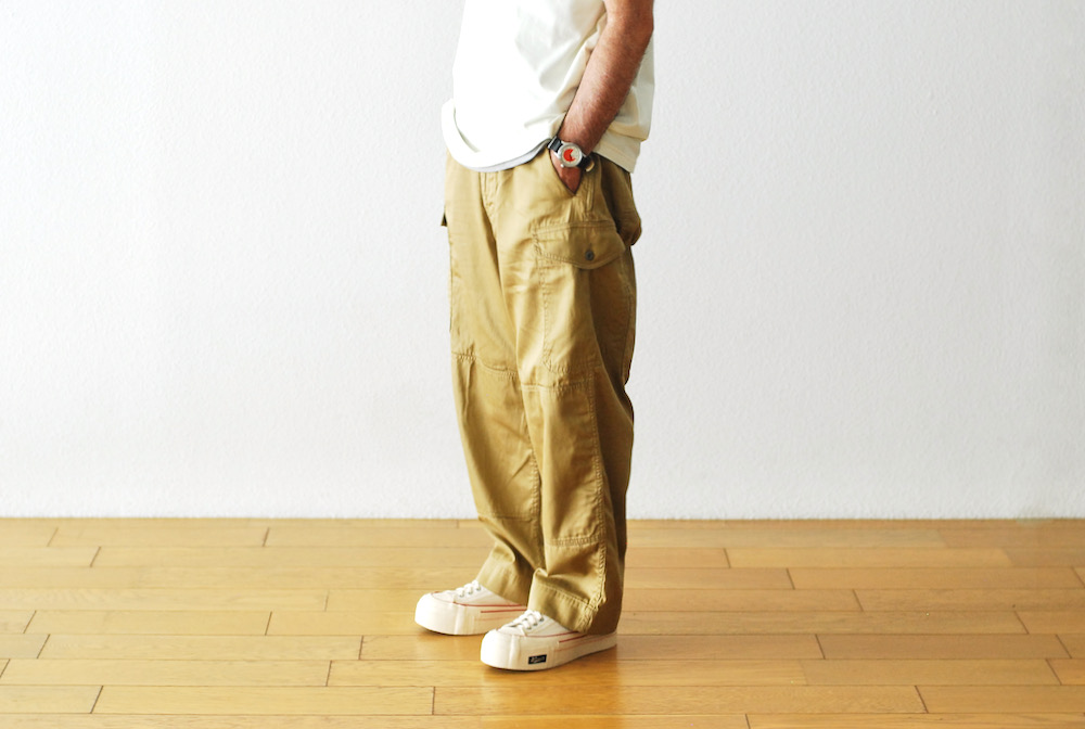 "[unisex]itten.(イッテン) ""itten 60 combat trouser"""