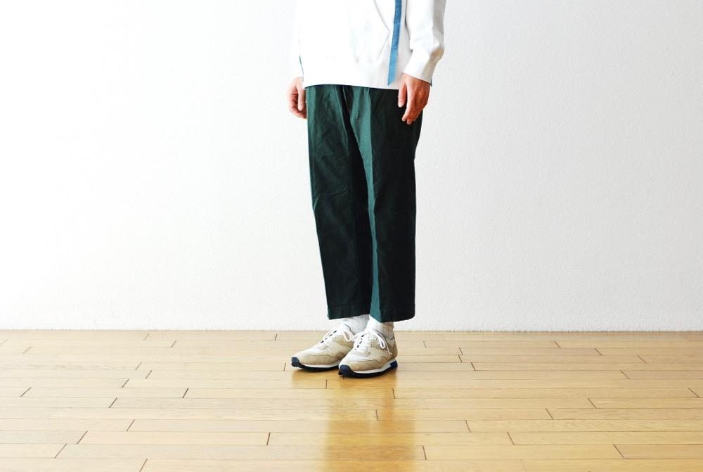"""itten.(イッテン)""""itten 17 wide pant -stretch twill-"""""""