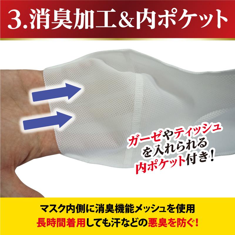 【お得なセット割】サポーターメーカーの洗える伸縮マスク