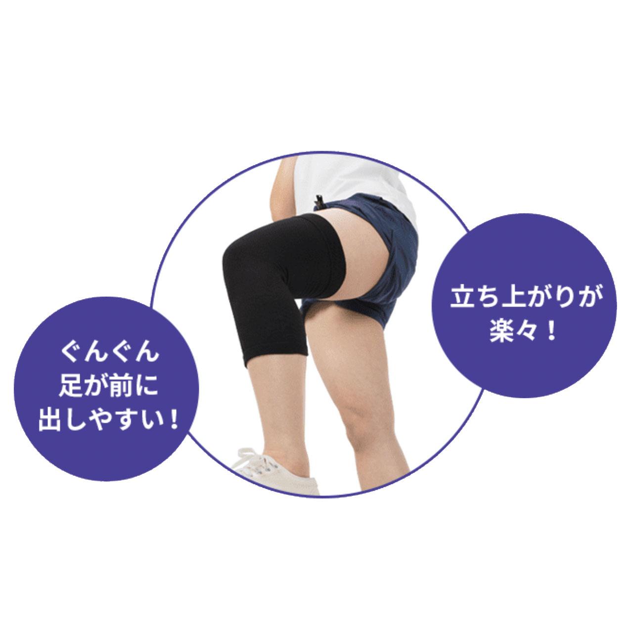緩動サポーター 膝(ひざ)用