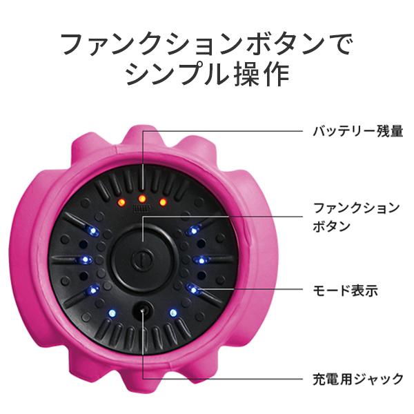3Dマッサージロール MR-001(ご好評につき在庫が不足しています。1月下旬以降順次出荷)