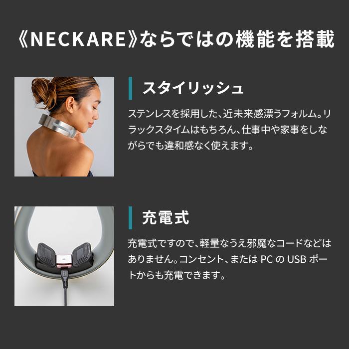 【予約販売 2月下旬以降出荷】NECKARE(ネックケア) ES-110