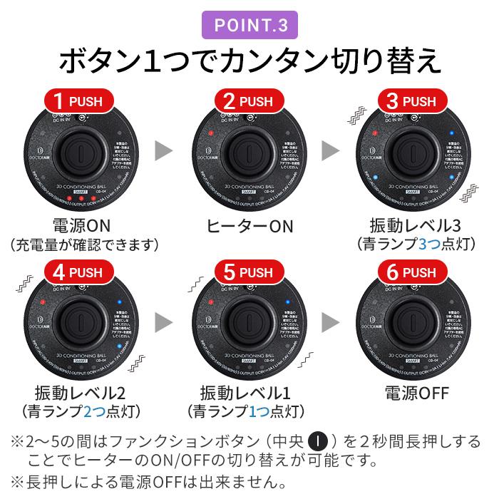 3Dコンディショニングボール スマート CB-04