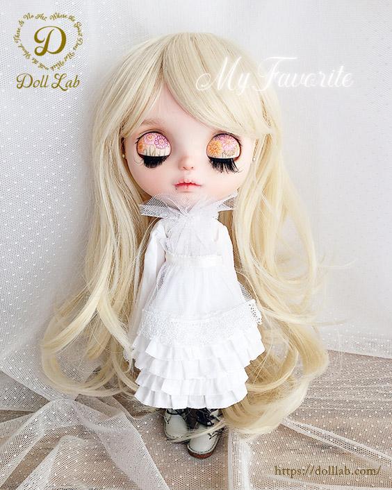 プリンセスシフォン ミルクゴールド[12inch] ドールウィッグ
