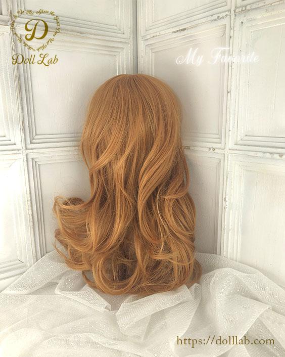 プリンセスシフォン オレンジブラウン[12inch] ドールウィッグ