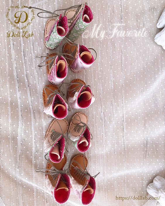 布革の編み上げロングブーツ [ローズガーデン]ブライス 靴 本革