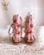 布革の編み上げロングブーツ [ Strawberry shoe]ブライス 靴 本革