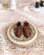 リボン革ブーツ [ブライス サイズ]チョコブラウン